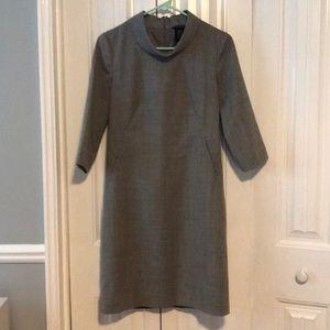 Gray Banana Republic Dress, Sz 0
